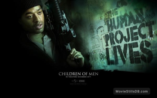 Children Of Men Wallpaper: Wallpaper With Chiwetel Ejiofor