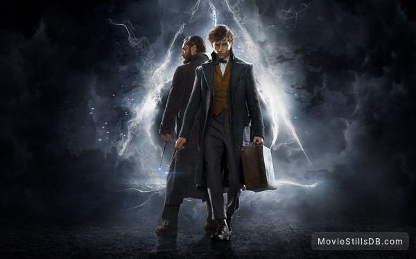 Fantastic Beasts: The Crimes of Grindelwald - Promotional art with Eddie Redmayne & Jude Law