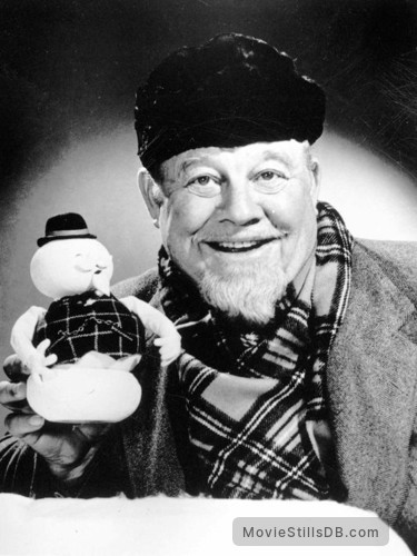 Rudolph, the Red-Nosed Reindeer - Promo shot of Burl Ives