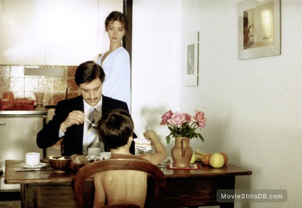 'Je vous salue, Marie' - Publicity still of Myriem Roussel & Thierry Rode