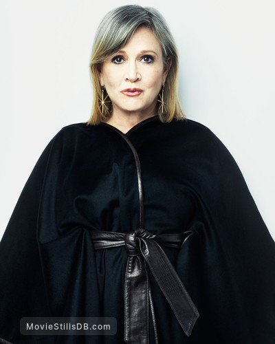 Star Wars: The Force Awakens - Promo shot of Carrie Fisher