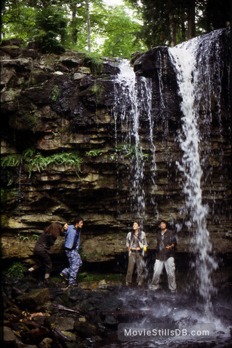 Adventure Inc. - Publicity still of Michael Biehn, Jesse Nilsson & Karen Cliche