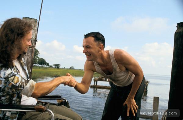 Forrest Gump - Publicity still of Gary Sinise & Tom Hanks
