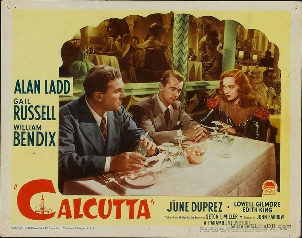 Calcutta - Lobby card