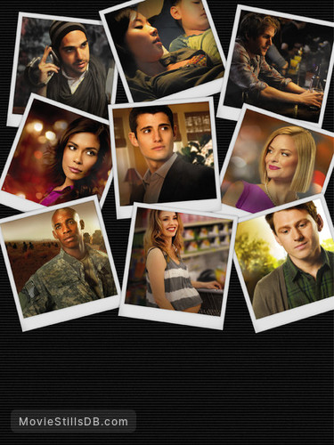 My Generation - Promo shot of Mehcad Brooks, Julian Morris, Anne Son, Kelli Garner, Sebastian Sozzi, Michael Stahl-David, Jaime King, Keir O'Donnell & Daniella Alonso