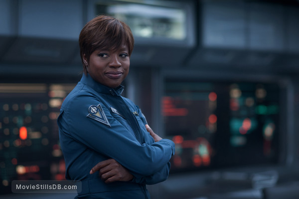 Ender's Game - Publicity still of Viola Davis