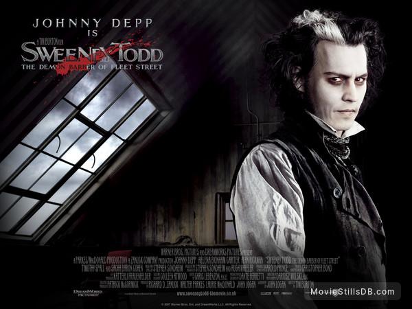 Sweeney Todd The Demon Barber Of Fleet Street Wallpaper