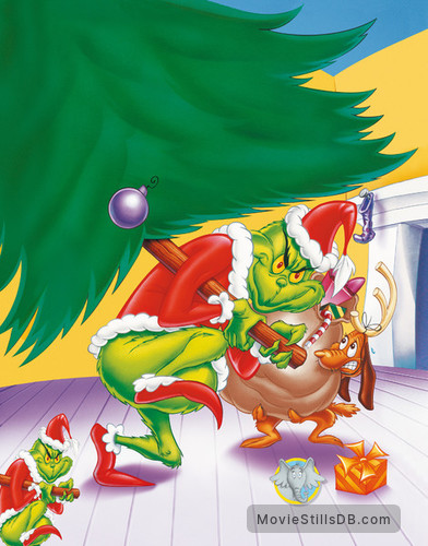 How the Grinch Stole Christmas! - Promotional art