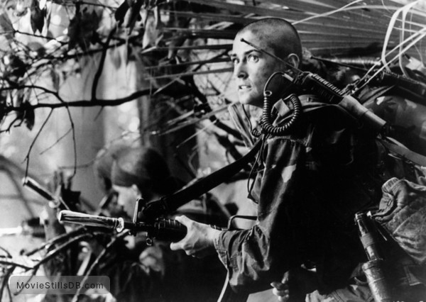 G.I. Jane - Publicity still of Demi Moore