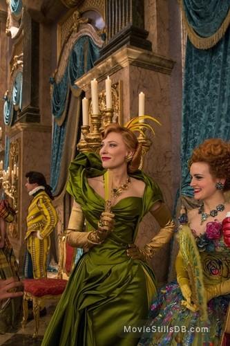 Cinderella - Publicity still of Cate Blanchett & Sophie McShera