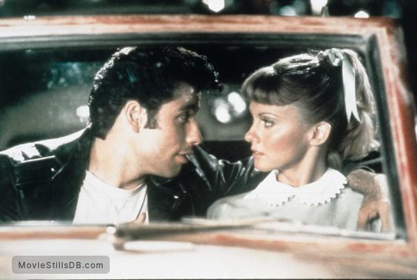 Grease - Publicity still of John Travolta & Olivia Newton-John