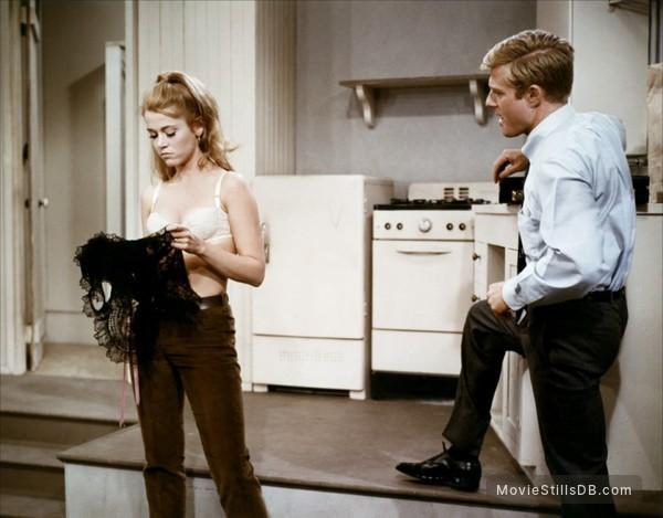Barefoot in the Park - Publicity still of Jane Fonda & Robert Redford