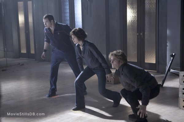 Twilight - Publicity still of Kellan Lutz, Jackson Rathbone & Ashley Greene
