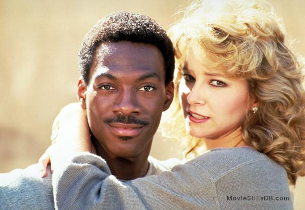 Beverly Hills Cop - Publicity still of Lisa Eilbacher & Eddie Murphy