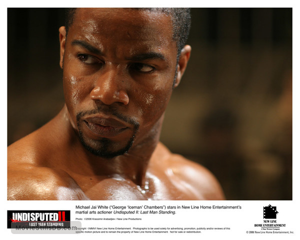 Undisputed II: Last Man Standing - Lobby card with Michael Jai White