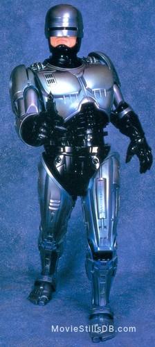 RoboCop 3 - Promo shot of Robert John Burke