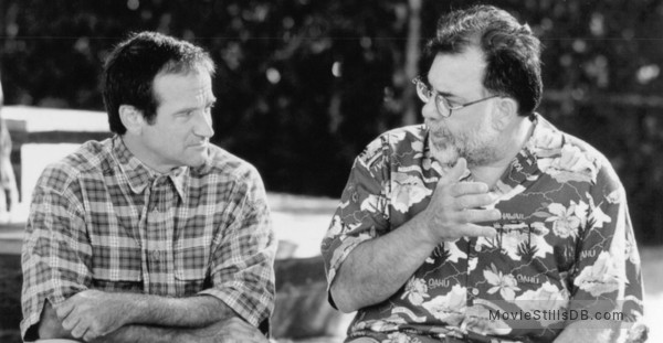 Jack - Behind the scenes photo of Francis Ford Coppola & Robin Williams