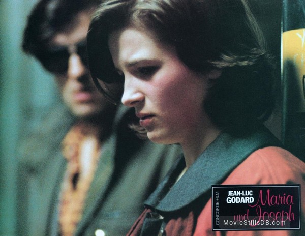 'Je vous salue, Marie' - Lobby card with Thierry Rode & Juliette Binoche