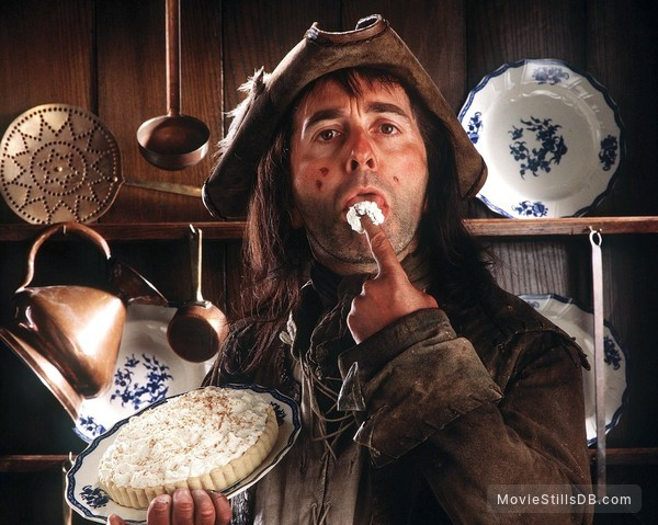 The Black Adder - Promo shot of Tony Robinson