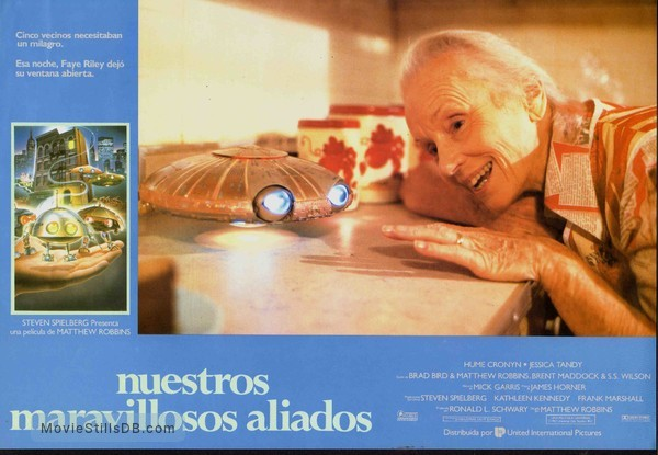 *batteries not included - Lobby card with Jessica Tandy