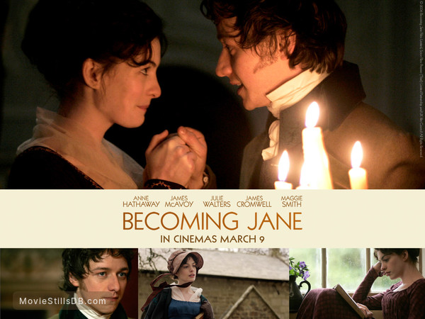 Becoming Jane Wallpaper With Anne Hathaway James Mcavoy