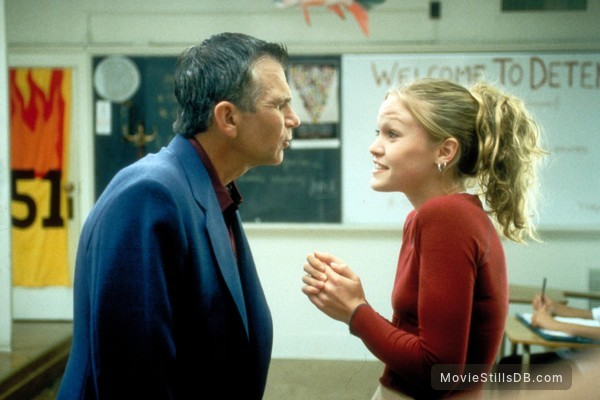 10 Things I Hate About You - Publicity still of David Leisure & Julia Stiles