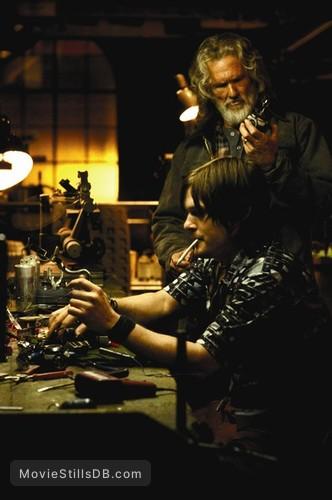 Blade 2 - Publicity still of Norman Reedus & Kris Kristofferson