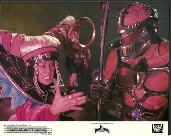 Mighty Morphin Power Rangers: The Movie - Lobby card with Julia Cortez & Mark Ginther