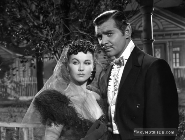 Gone with the Wind - Publicity still of Clark Gable & Vivien Leigh