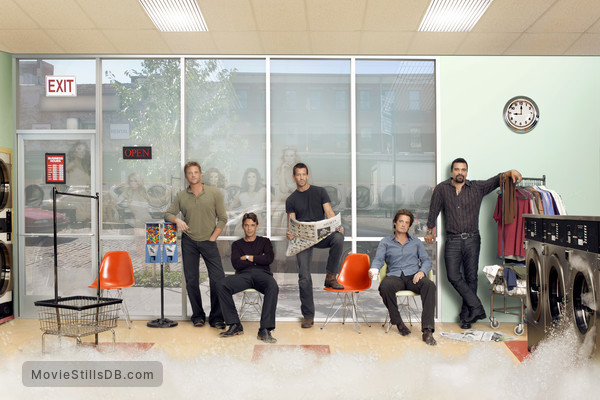 Desperate Housewives - Promo shot of Kyle MacLachlan, James Denton, Dougray Scott, Ricardo Chavira & Doug Savant