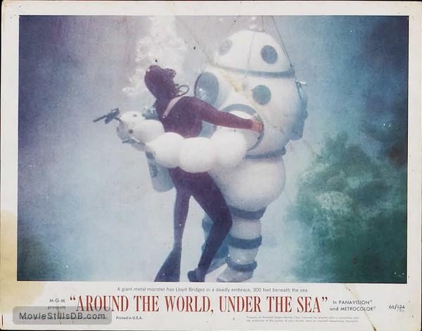 Around the World Under the Sea - Lobby card