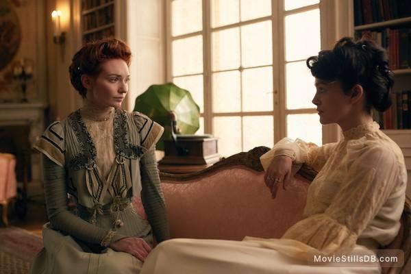 Colette - Publicity still of Eleanor Tomlinson & Keira Knightley