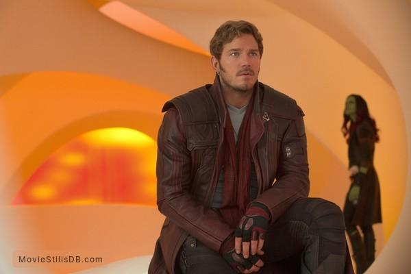 Guardians of the Galaxy Vol. 2 - Publicity still of Chris Pratt & Zoe Saldana