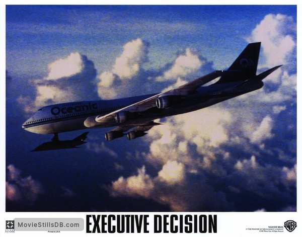 Executive Decision - Lobby card