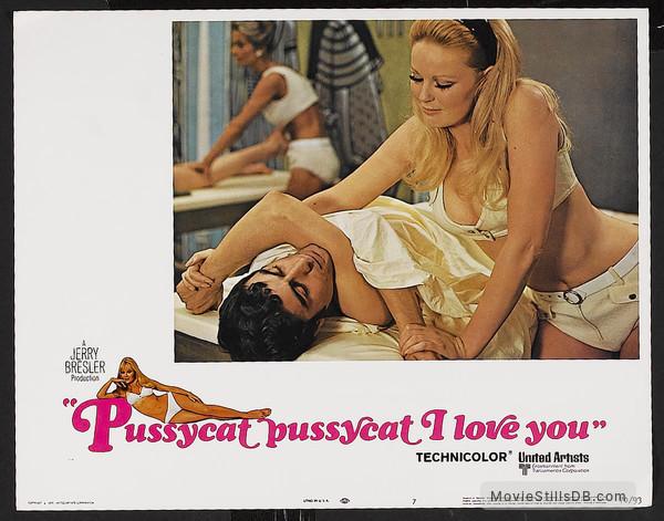 Pussycat, Pussycat, I Love You - Lobby card with Ian McShane