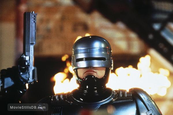 RoboCop 3 - Publicity still of Robert John Burke