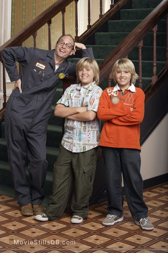 The Suite Life of Zack and Cody - Publicity still of Brian Stepanek, Dylan Sprouse & Cole Sprouse