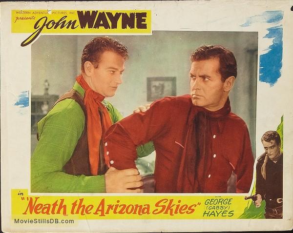 'Neath the Arizona Skies - Lobby card