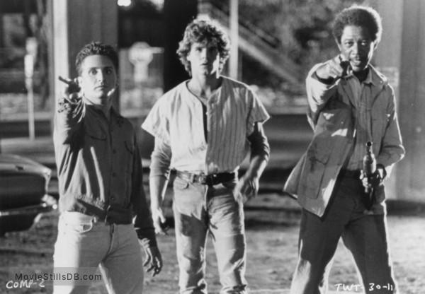 That Was Then... This Is Now - Publicity still of Emilio Estevez, Craig Sheffer & Morgan Freeman