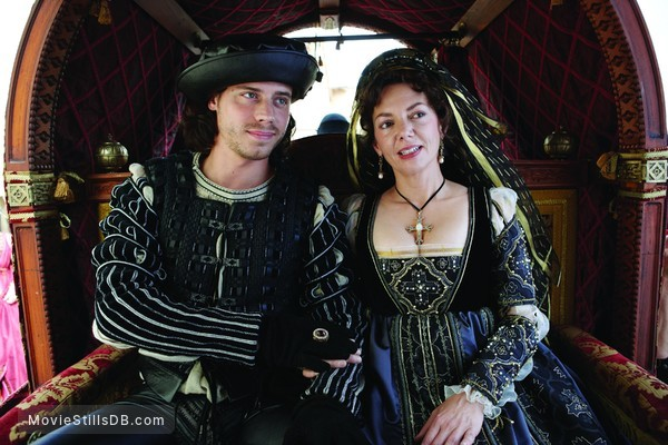 The Borgias - Publicity still of David Oakes & Joanne Whalley