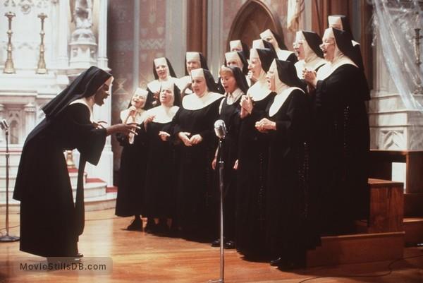 Sister Act - Publicity still of Whoopi Goldberg, Kathy Najimy & Wendy Makkena