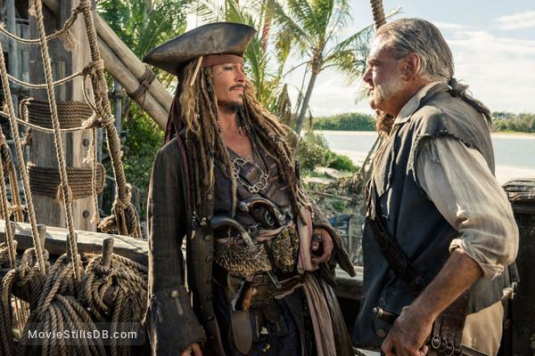 Pirates of the Caribbean: Dead Men Tell No Tales - Publicity still of Johnny Depp & Kevin McNally