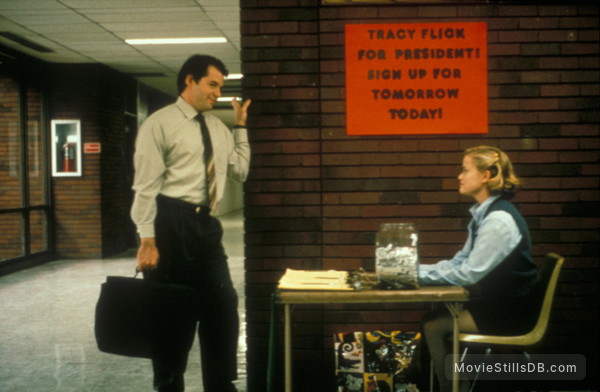 Election - Publicity still of Reese Witherspoon & Matthew Broderick