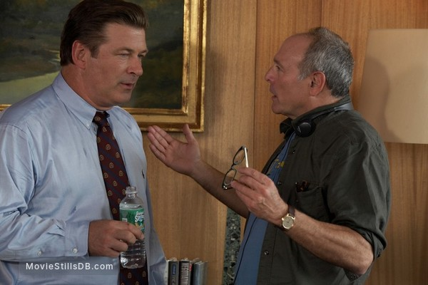My Best Friend's Girl - Behind the scenes photo of Alec Baldwin & Howard Deutch