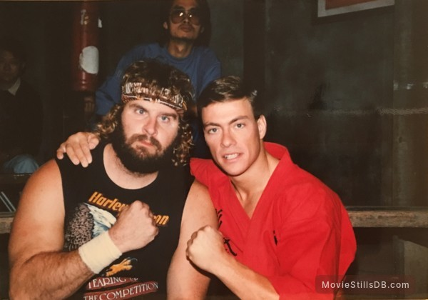 Bloodsport - Behind the scenes photo of Jean-Claude Van ...