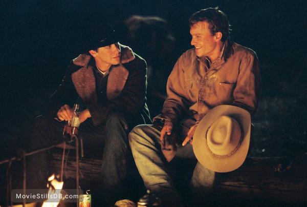 Brokeback Mountain - Publicity still of Jake Gyllenhaal & Heath Ledger