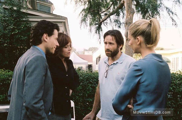 The TV Set - Publicity still of Ioan Gruffudd, Sigourney Weaver, David Duchovny & Judy Greer