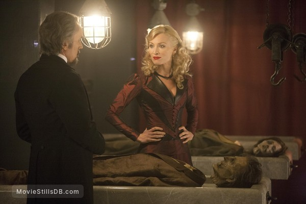 Dracula - Publicity still of Victoria Smurfit & Ben Miles