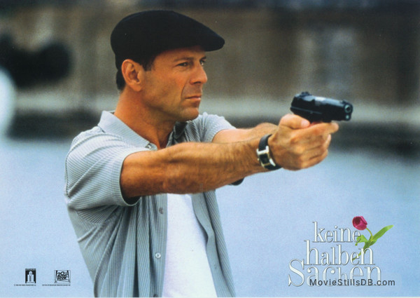 The Whole Nine Yards - Lobby card with Bruce Willis
