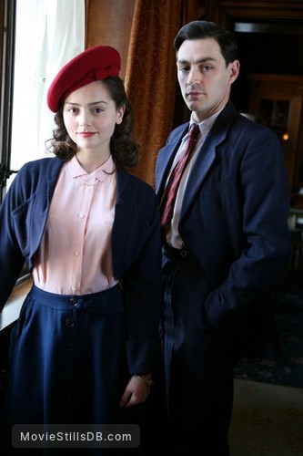 Room at the Top - Promo shot of Jenna Coleman & Matthew Mcnulty